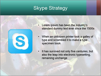Aubergine PowerPoint Template - Slide 8