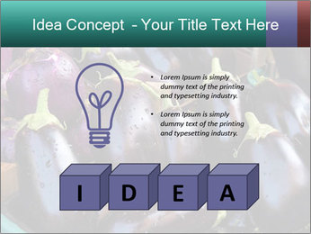 Aubergine PowerPoint Template - Slide 80