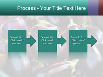 Aubergine PowerPoint Template - Slide 88