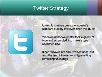 Aubergine PowerPoint Template - Slide 9