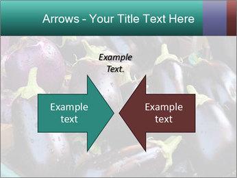 Aubergine PowerPoint Template - Slide 90