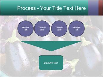 Aubergine PowerPoint Template - Slide 93