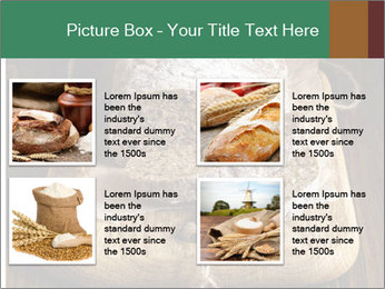 Homemade Rye Bread PowerPoint Template - Slide 14