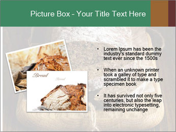 Homemade Rye Bread PowerPoint Template - Slide 20