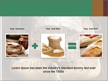 Homemade Rye Bread PowerPoint Template - Slide 22