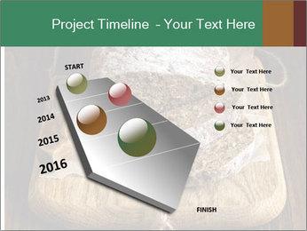 Homemade Rye Bread PowerPoint Templates - Slide 26