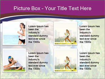Stretching In Park PowerPoint Templates - Slide 14