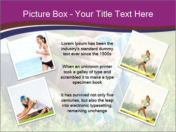Stretching In Park PowerPoint Templates - Slide 24