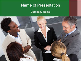 Staff Talk PowerPoint Template