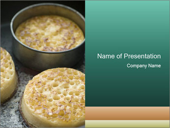 Sweet Bread PowerPoint Template - Slide 1