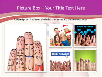 Fingers Hugging PowerPoint Templates - Slide 19