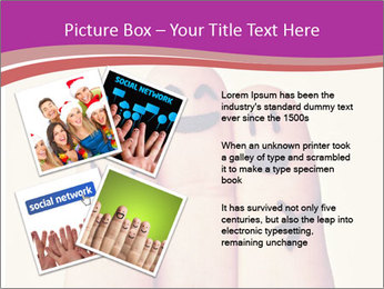 Fingers Hugging PowerPoint Templates - Slide 23