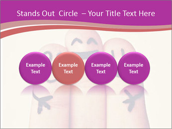 Fingers Hugging PowerPoint Templates - Slide 76