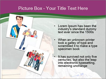 Thinking Schoolboy PowerPoint Templates - Slide 17