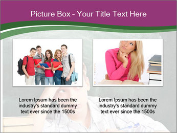 Thinking Schoolboy PowerPoint Templates - Slide 18