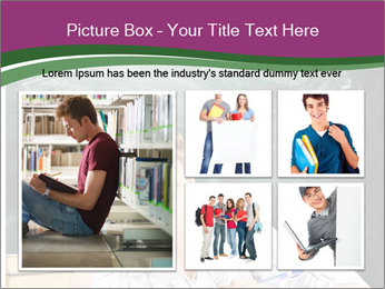 Thinking Schoolboy PowerPoint Templates - Slide 19