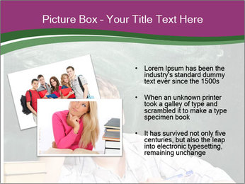 Thinking Schoolboy PowerPoint Templates - Slide 20