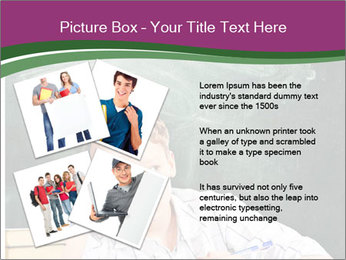 Thinking Schoolboy PowerPoint Templates - Slide 23