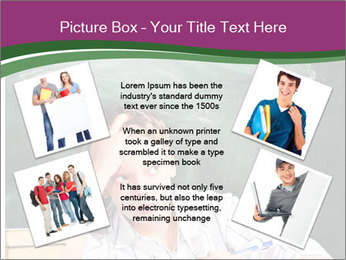Thinking Schoolboy PowerPoint Templates - Slide 24
