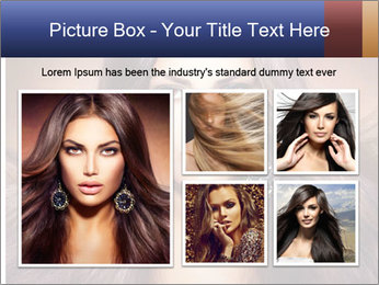 Unreal Fashion Model PowerPoint Template - Slide 19