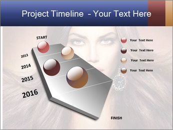 Unreal Fashion Model PowerPoint Template - Slide 26