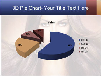 Unreal Fashion Model PowerPoint Template - Slide 35