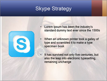 Unreal Fashion Model PowerPoint Template - Slide 8