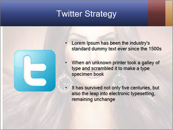 Unreal Fashion Model PowerPoint Template - Slide 9