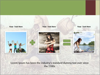 Model Shooting In Countryside PowerPoint Template - Slide 22