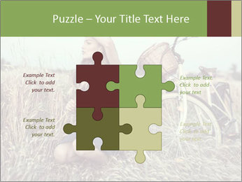 Model Shooting In Countryside PowerPoint Template - Slide 43