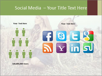 Model Shooting In Countryside PowerPoint Template - Slide 5