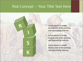 Model Shooting In Countryside PowerPoint Template - Slide 81