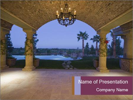 Stylish Veranda PowerPoint Template