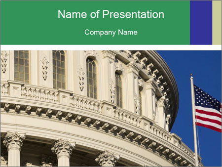 USA Capitol PowerPoint Templates