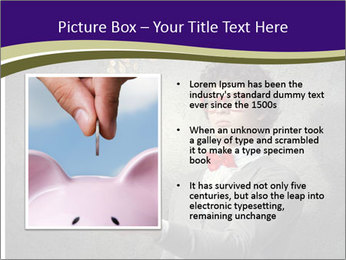 Bank Magician PowerPoint Template - Slide 13