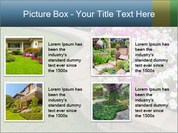 Flowerbed PowerPoint Template - Slide 14