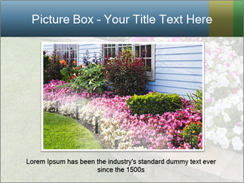 Flowerbed PowerPoint Template - Slide 16