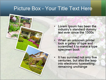Flowerbed PowerPoint Template - Slide 17