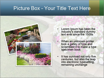 Flowerbed PowerPoint Template - Slide 20