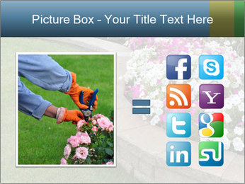 Flowerbed PowerPoint Template - Slide 21