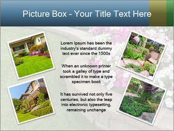 Flowerbed PowerPoint Template - Slide 24