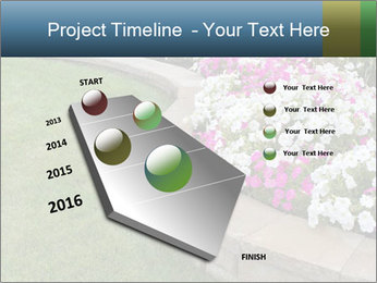 Flowerbed PowerPoint Template - Slide 26