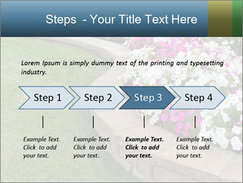 Flowerbed PowerPoint Template - Slide 4