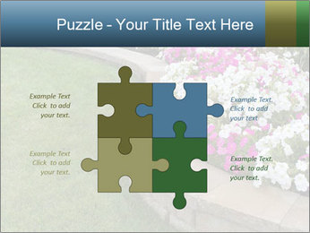 Flowerbed PowerPoint Template - Slide 43