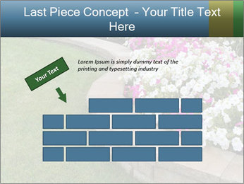 Flowerbed PowerPoint Template - Slide 46