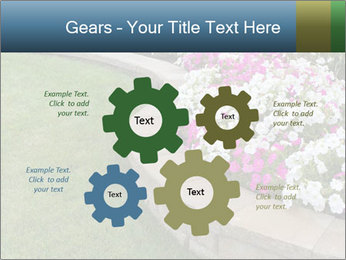 Flowerbed PowerPoint Template - Slide 47