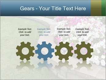 Flowerbed PowerPoint Template - Slide 48