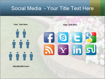 Flowerbed PowerPoint Template - Slide 5