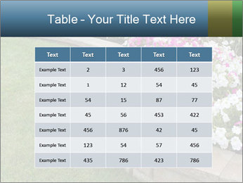 Flowerbed PowerPoint Template - Slide 55