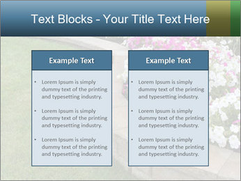 Flowerbed PowerPoint Template - Slide 57